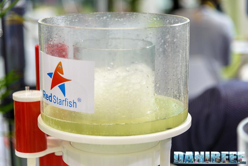 Schiumata liquida nello schiumatoio RedStarfish
