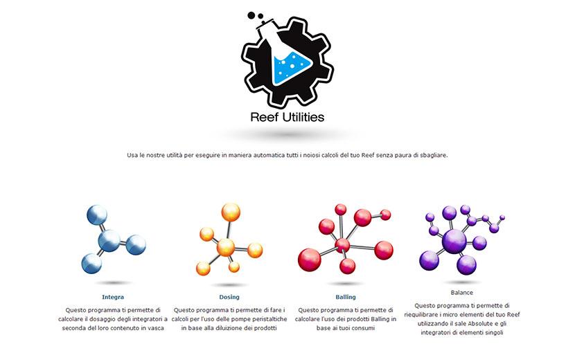 OceanLife presenta Reef Utilities, pratici programmi per il calcolo della somministrazione dei prodotti in acquario