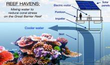 Come salvare la Grande Barriera Corallina con delle enormi ventole