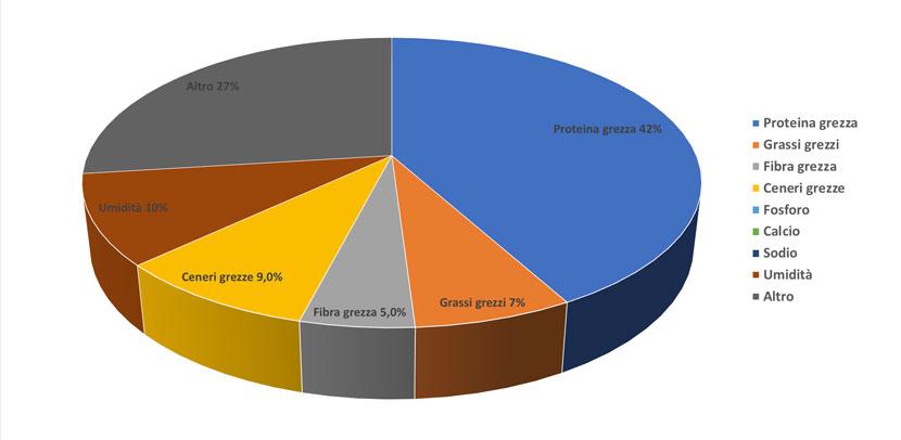 Analisi Nutrizionale Mangime Granulare con Aglio Unica Super Garlic Gran di AGP
