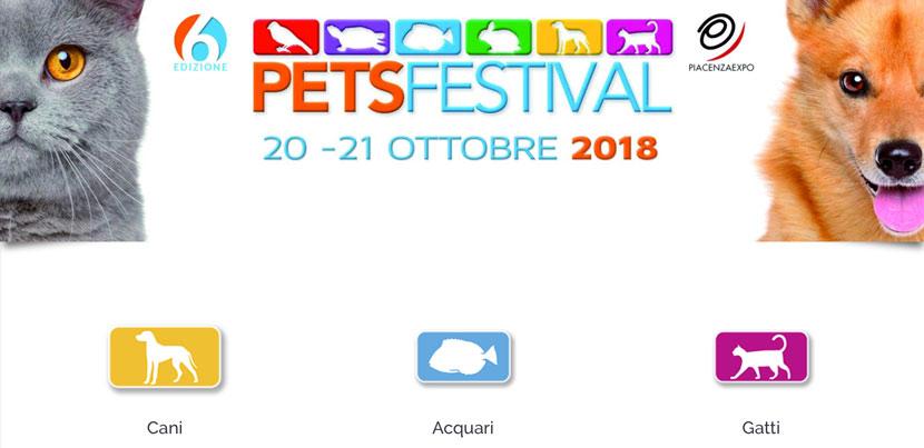 Il PetsFestival 2018 aprira' le porte il 20 ed il 21 ottobre. Vediamo le novita'