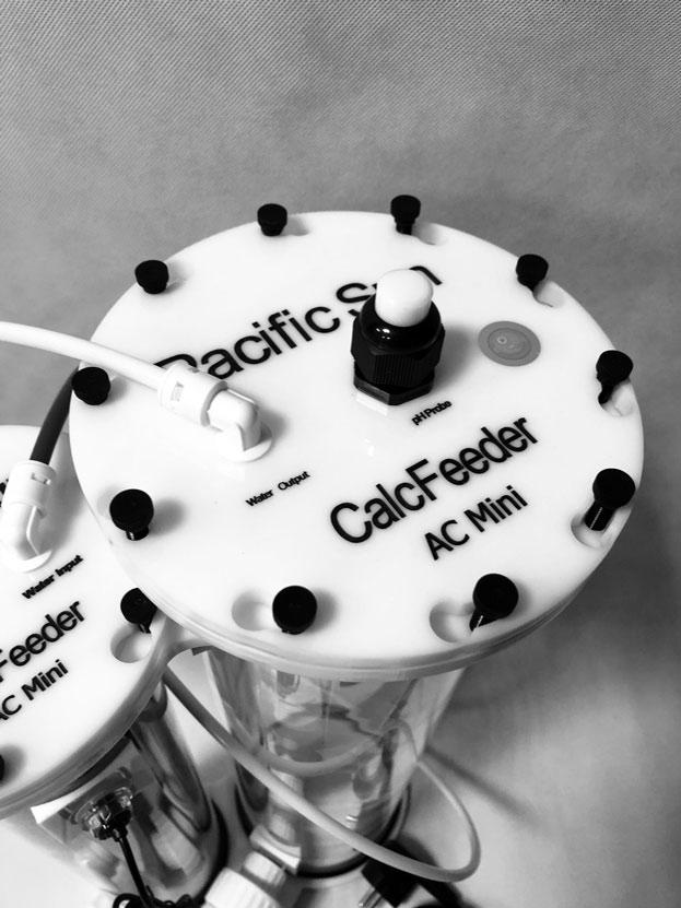 Reattore di Calcio Pacific Sun Calc Feeder Mini - particolare