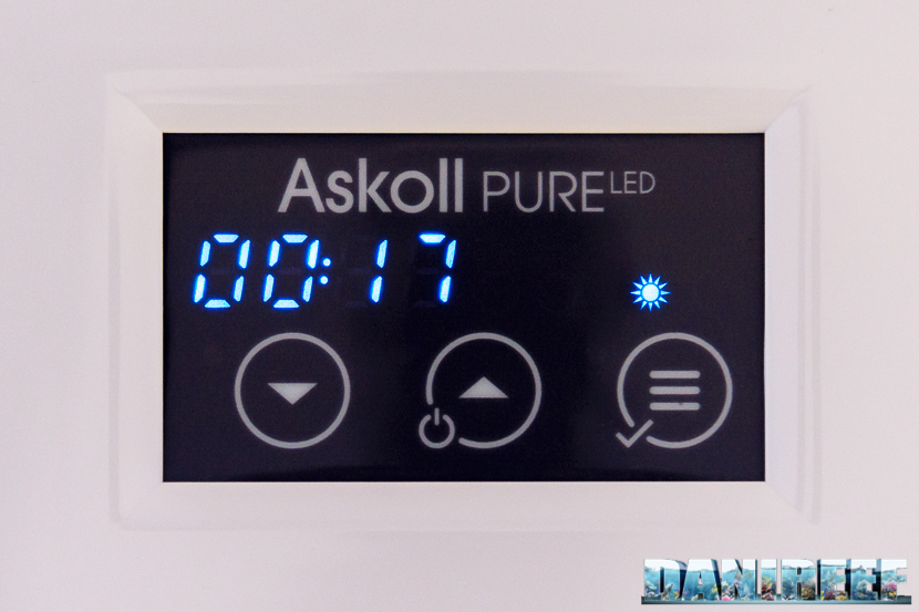 Acquario marino Askoll Pure Marine XL HC Led: display pure led