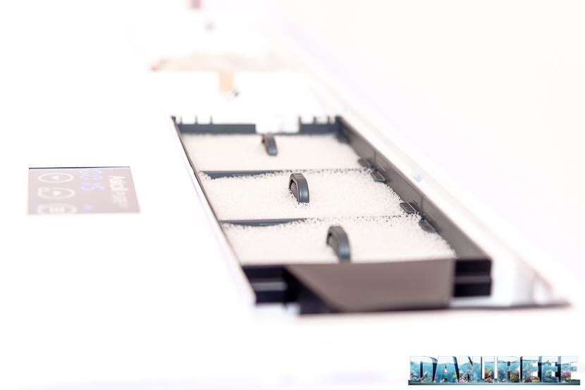 Acquario marino Askoll Pure Marine XL HC Led: filtraggio meccanico
