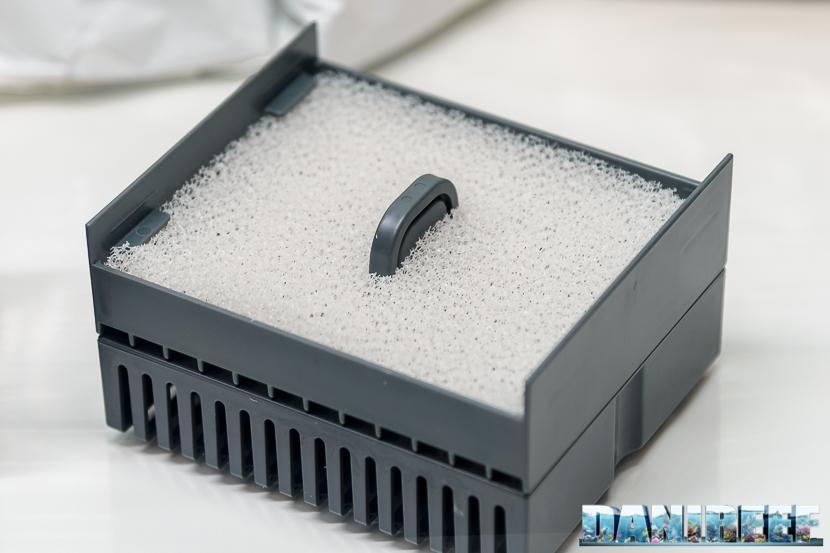 Acquario marino Askoll Pure Marine XL HC Led: modulo di filtrazione meccanica