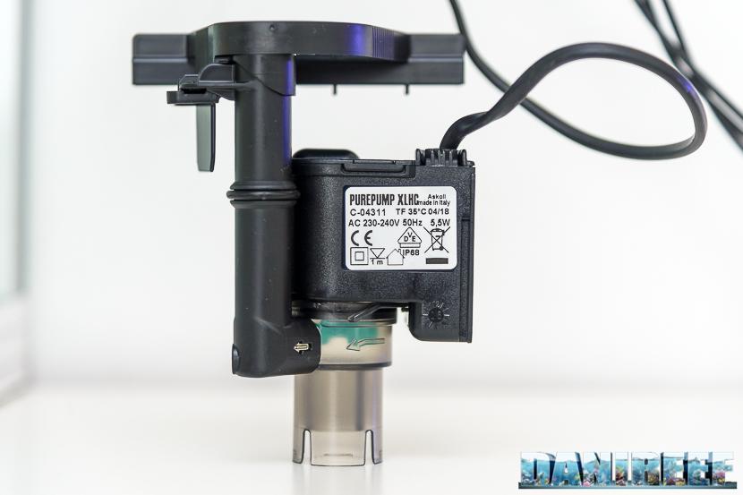 Acquario marino Askoll Pure Marine XL HC Led: pompa del filtro