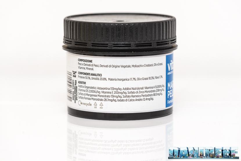 Vitalis Marine Pellets - mangime in pellet bilanciato con astaxantina