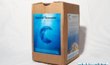 Natural Seawater for Reef Acquarium – bottled marine water