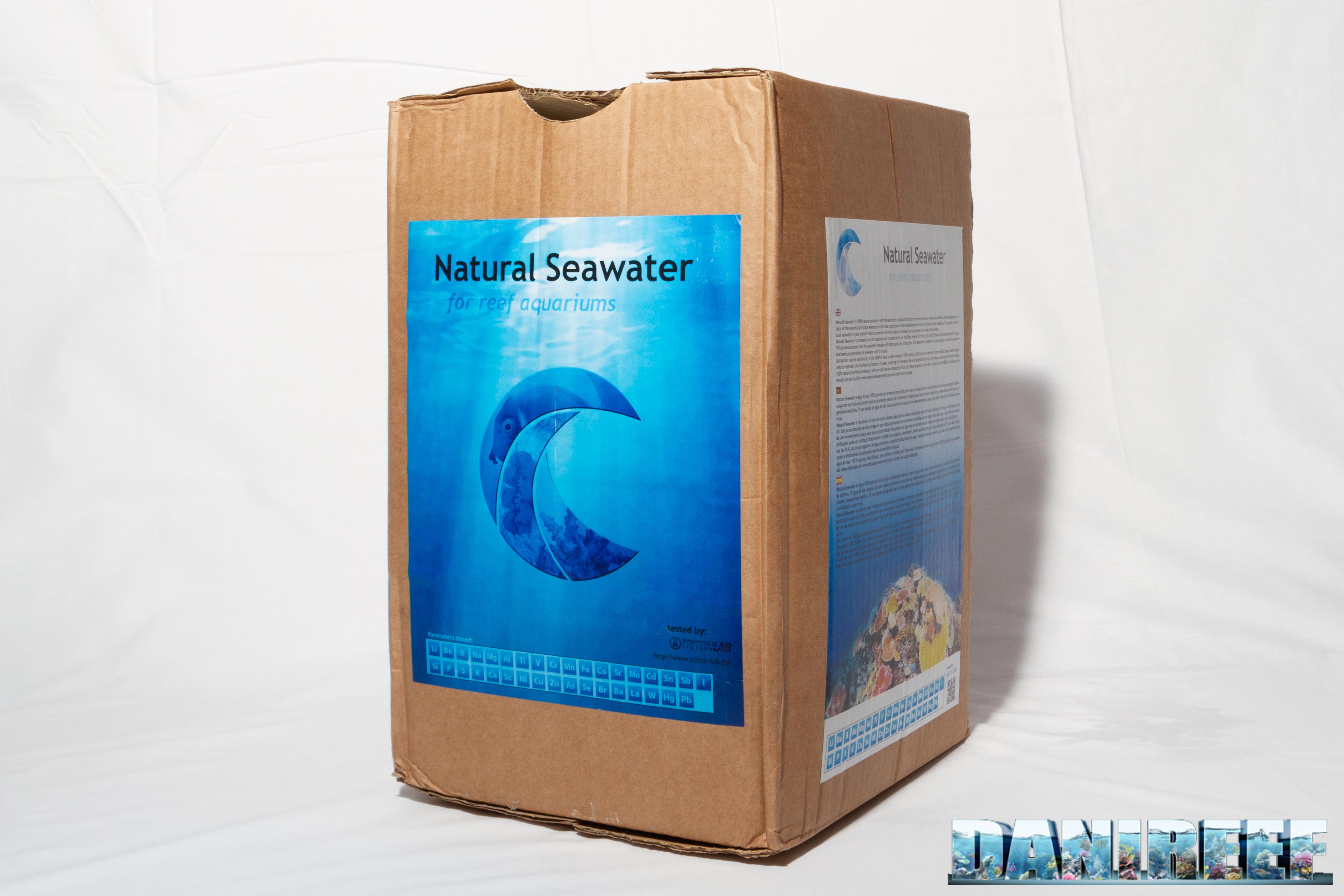 Acqua di mare prelevata contro acqua di mare confezionata. Chi vincerà?
