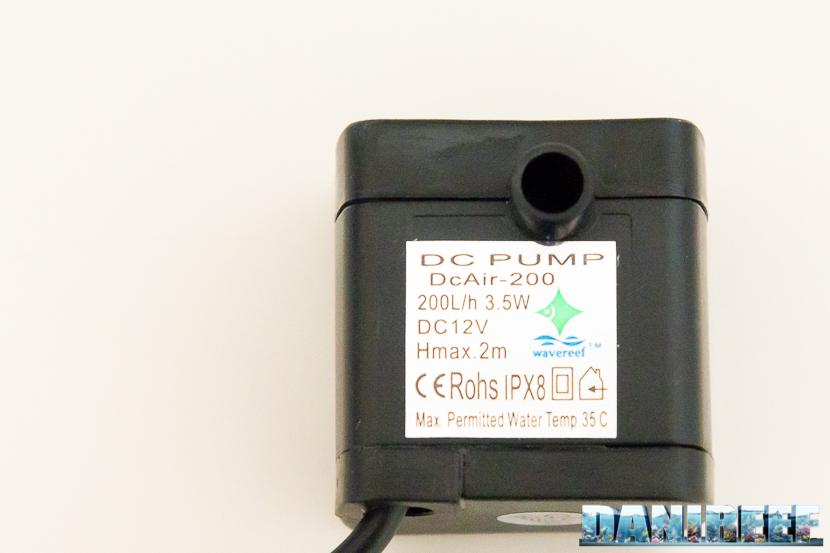 Sensore di livello WaveReef Auto-Fill: pompa in dotazione