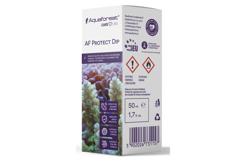 AquaForest AF protect Dip contro RTN, STN, Brown Jelly, Micosi