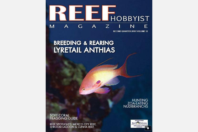 Reef Hobbyist Magazine del secondo trimestre 2018
