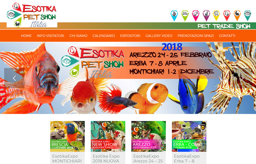 Fiera Esotika Milano 2018 ad Erba 7 ed 8 aprile