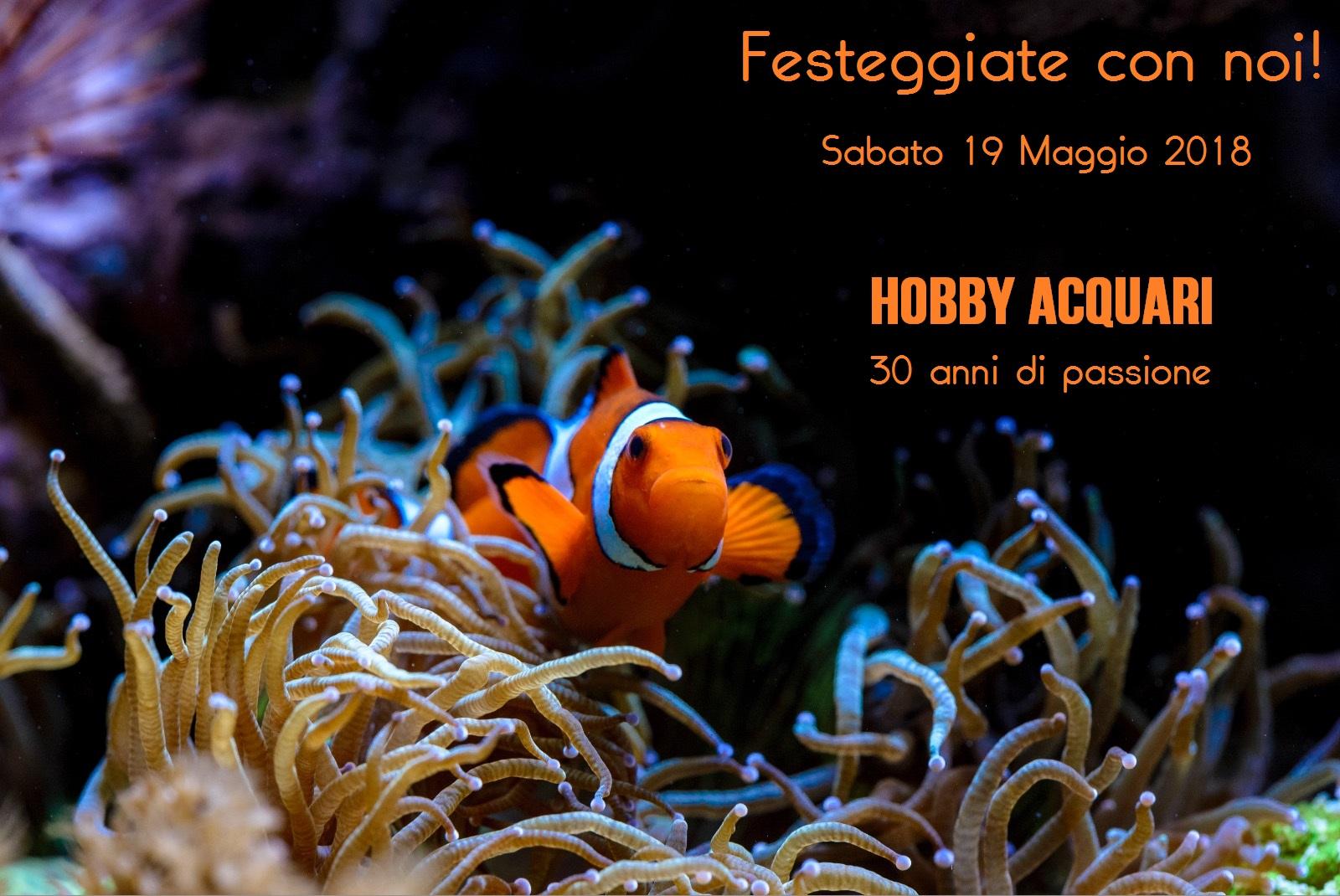 Hobby Acquari Bologna - festa per 30 anni di attività