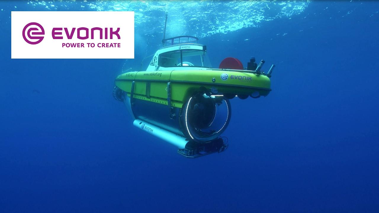 sommergibile LULA1000, della Fondazione Rebikoff-Niggeler con cupola panoramica