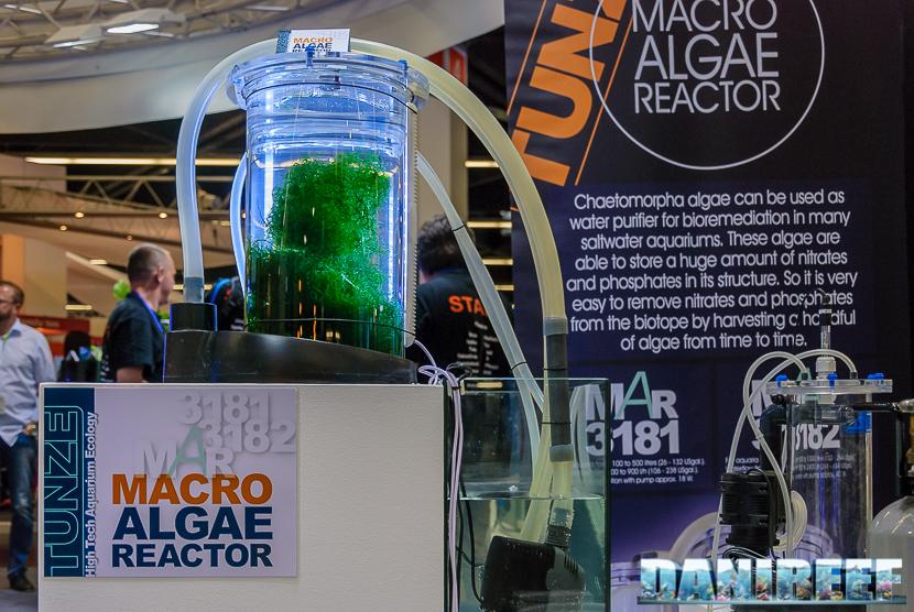Interzoo 2018: reattore di macroalghe tunze MAR 3181 e MAR 3182