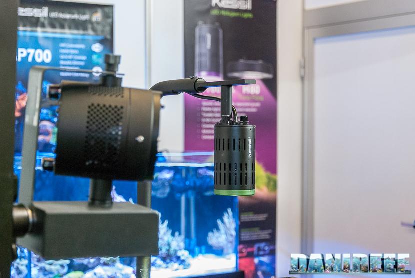 Interzoo 2018: lo stand Kessil con la plafoniera LED A160