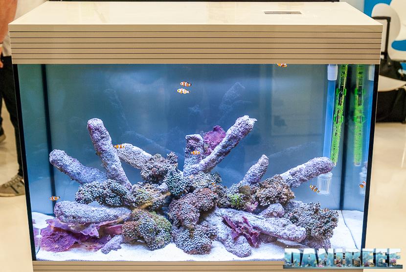 Interzoo 2018: l'acquario Pure Marine XL HC LED presso lo stand Askoll