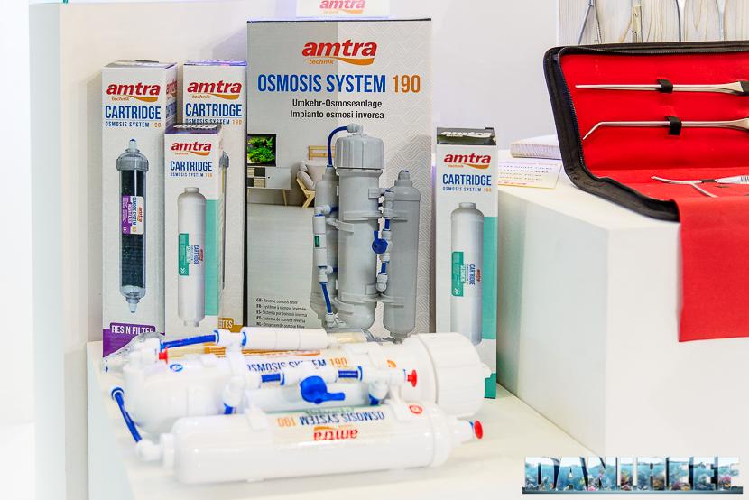 Interzoo 2018: impianto di osmosi inversa presso lo stand Amtra