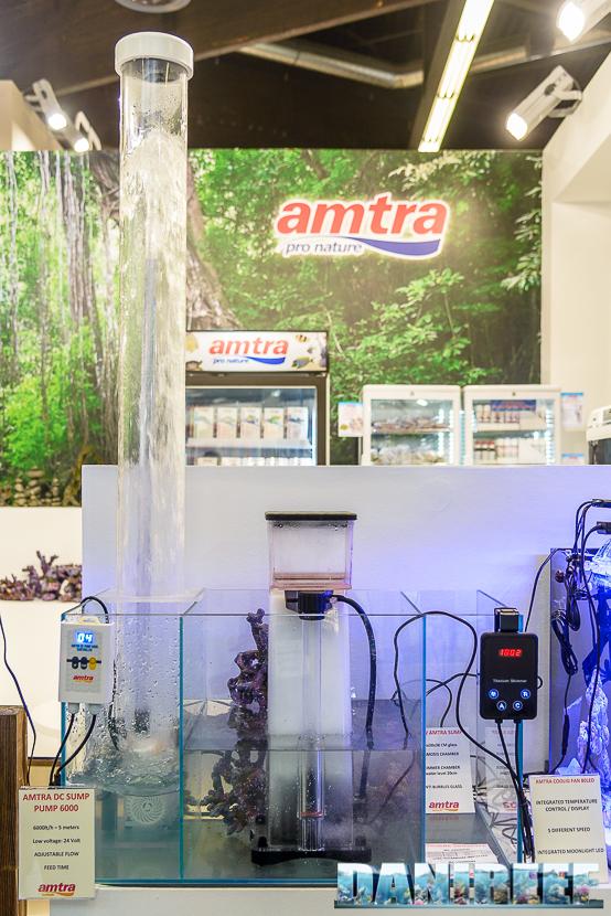 Interzoo 2018: schiumatoio e pompe di risalita presso lo stand Amtra