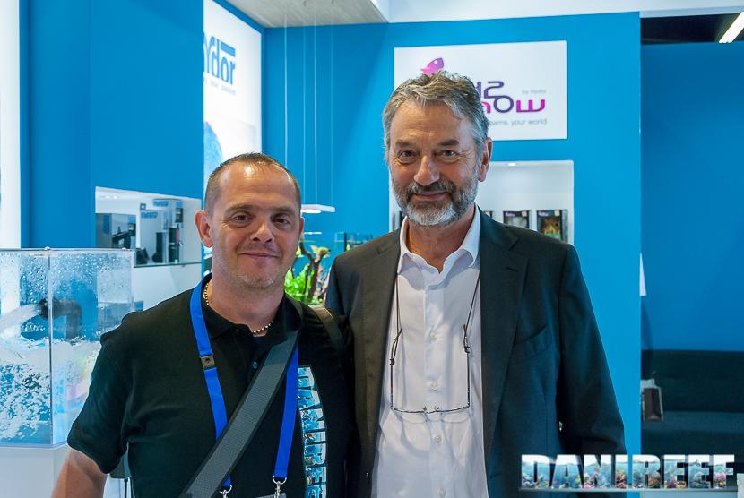 Interzoo 2018: DaniReef e l'ing. Valerio Bresolin