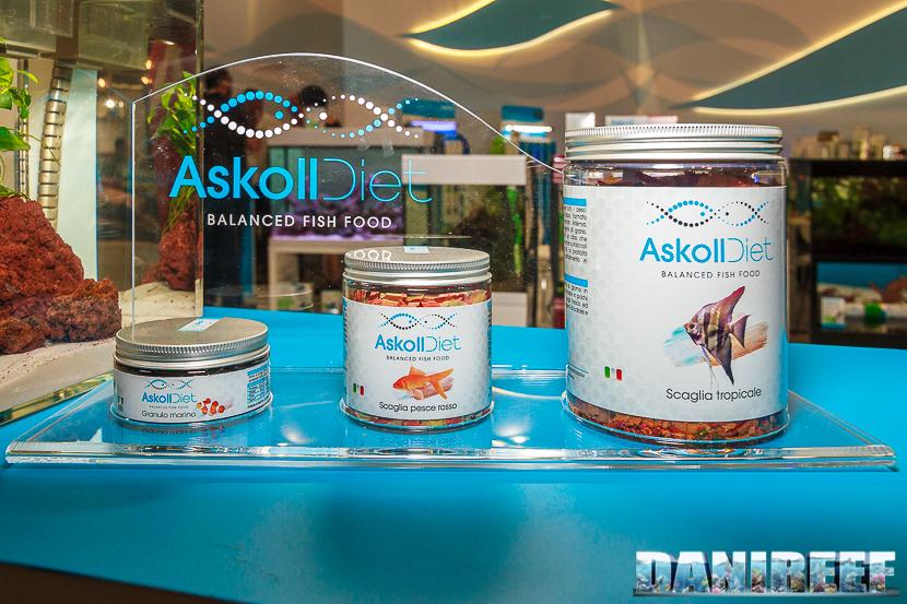 Interzoo 2018:mangime per pesci Askoll Diet presso lo stand Askoll