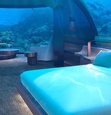 The Muraka, la villa che ti permette di dormire tra i coralli delle Maldive