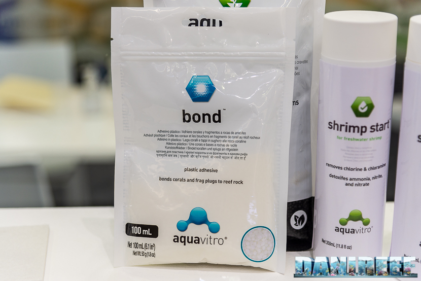 Interzoo 2018: aquavitro bond - colla per coralli