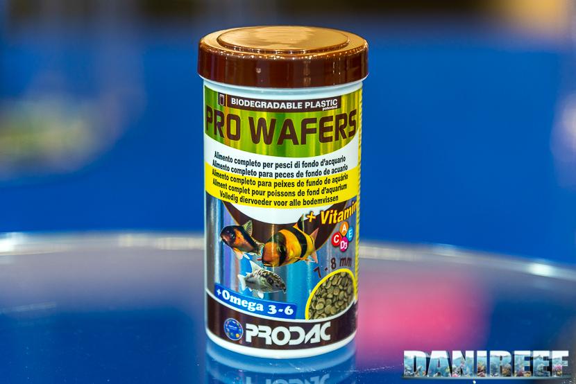 Interzoo 2018: mangime per pesci da fondo Prodac Pro Wafers