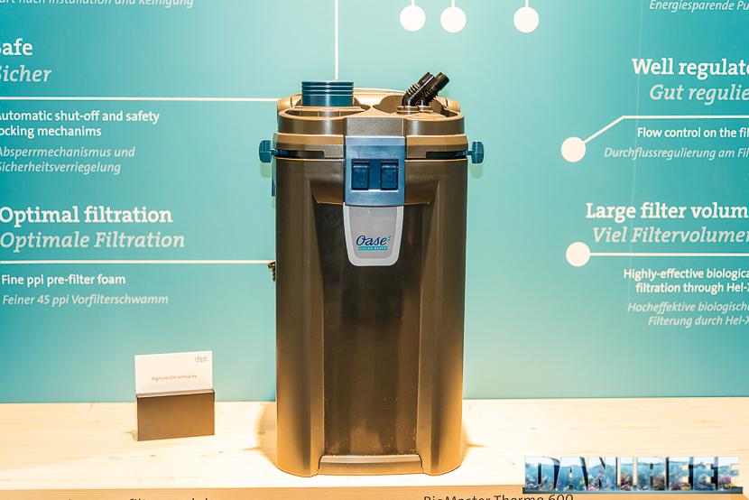 Interzoo 2018: Il filtro Biomaster Thermo presso lo stand OASE