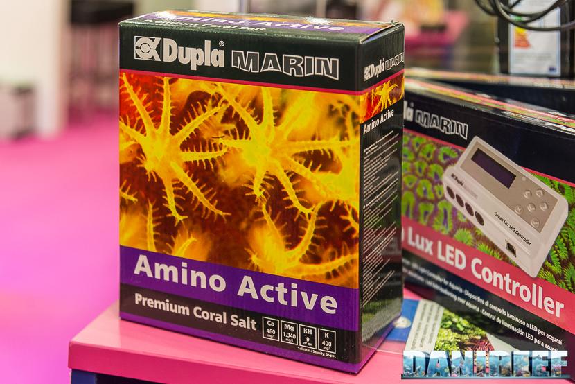 Interzoo 2018: Sale Marino Amino Active presso lo stand Doshe Aquaristik - Dupla