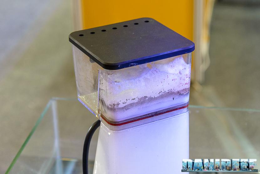 Schiumatoio Macro Aqua con girante in titanio e forma quadrata