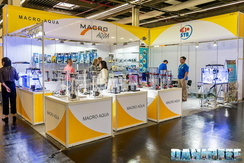 Interzoo 2018: lo stand macroaqua con i titanium square skimmer