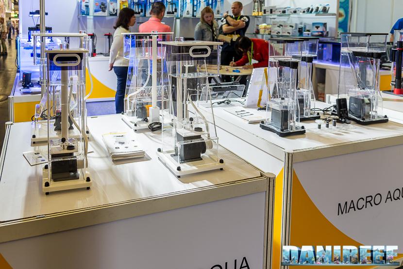 Interzoo 2018: titanium square skimmer presso lo stand macroaqua