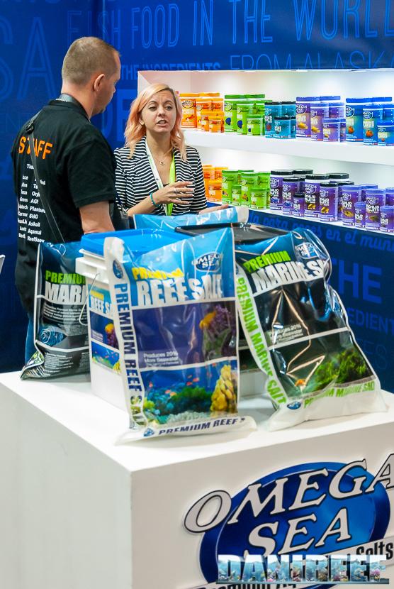 Interzoo 2018: lo stand Omega Sea con il proprio sale marino in evidenza