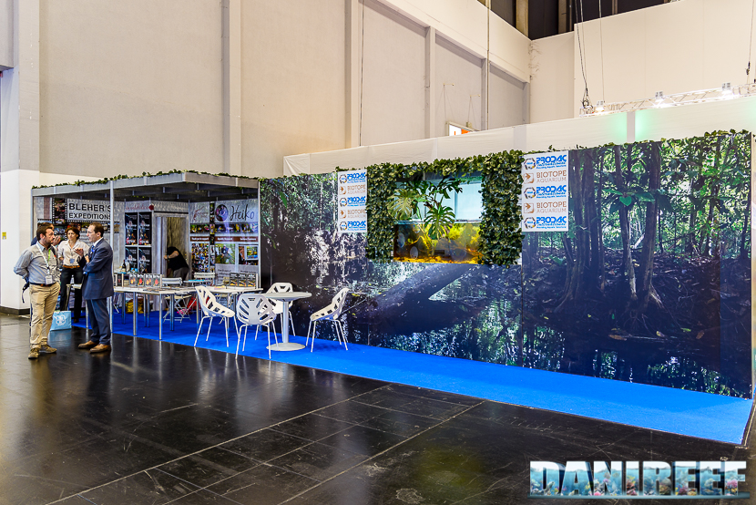 Stand Aquapress durante Interzoo 2018
