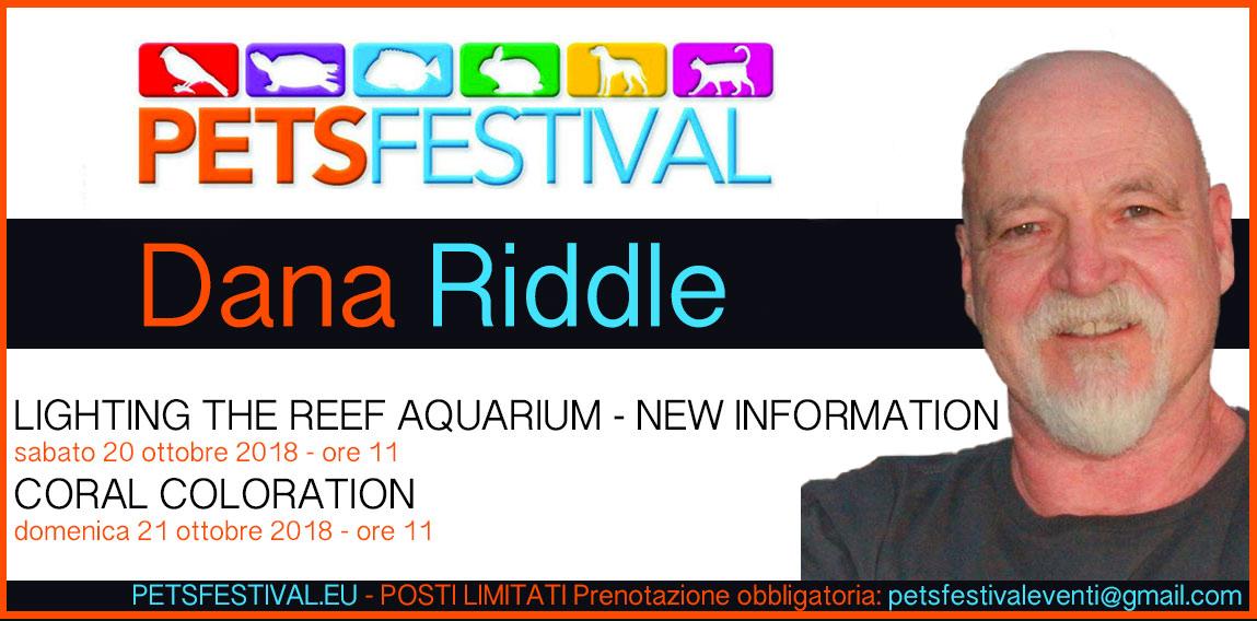 Dana Riddle con ben due conferenze in Italia, non perdetelo al PetsFestival