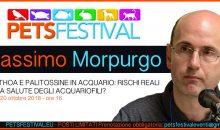 Massimo Morpurgo parla della pericolosa Palitossina, non perdetelo al PetsFestival