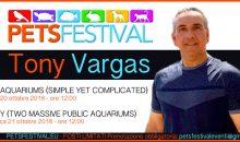 Tony Vargas sarà presente al PetsFestival con ben 2 conferenze