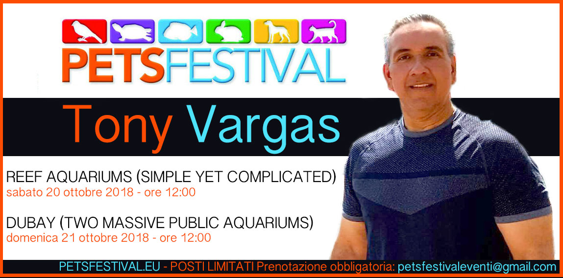 "Tony Vargas: ""Reef Aquariums (simple yet complicated)"" e ""Dubay (Two massive public aquariums)"""