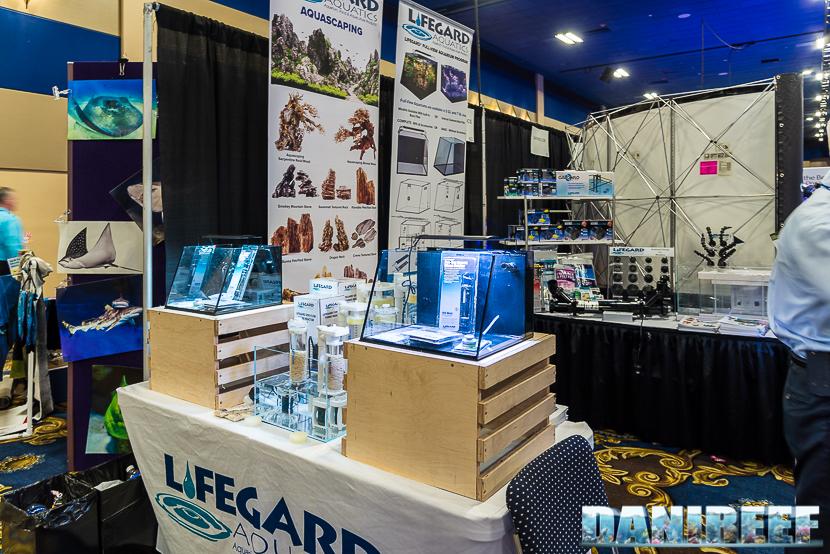 L'acquario Full View Aquarium di Lifegard Aquatics al Macna 2018