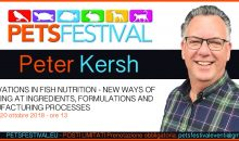 Peter Kersh al PetsFestival ci parlerà dell'alimentazione dei pesci d'acquario