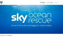 Sky Ocean Rescue. Sky contro la plastica negli oceani