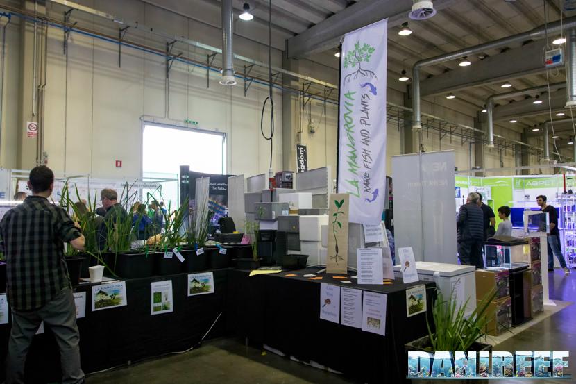 Lo stand La Mangrovia presso il PetsFestival 2018