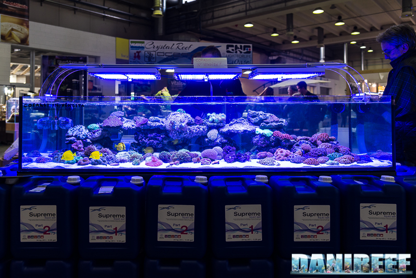 PetsFestival 2018: lo stand Oceanlife con Piubello Pet ed i suoi coralli