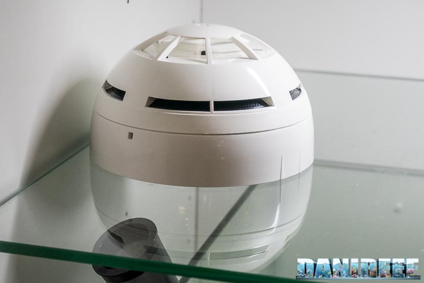 Computer per acquari Aqua Go: sensore antincendio