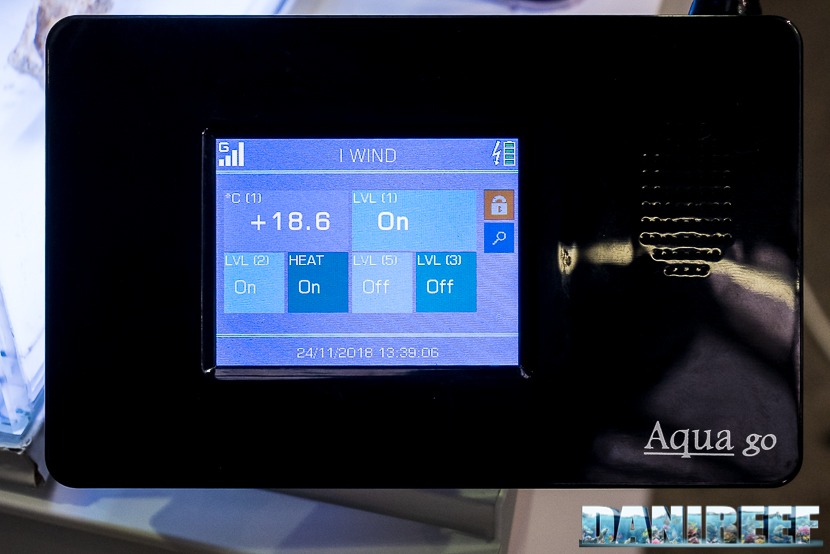 Computer per acquari Aqua Go: unita centrale con display