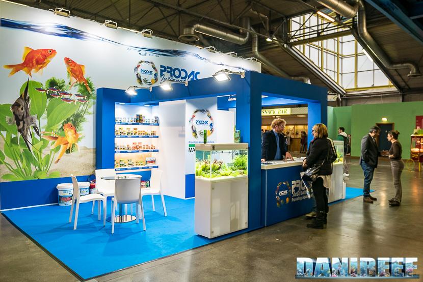 Lo stand Prodac al Pet Expo & Show a Bologna
