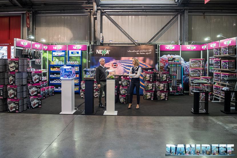 Lo stand Newa al Pet Expo & Show a Bologna