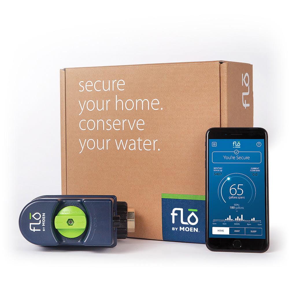 flo by moen - controllo fornitura acqua di casa